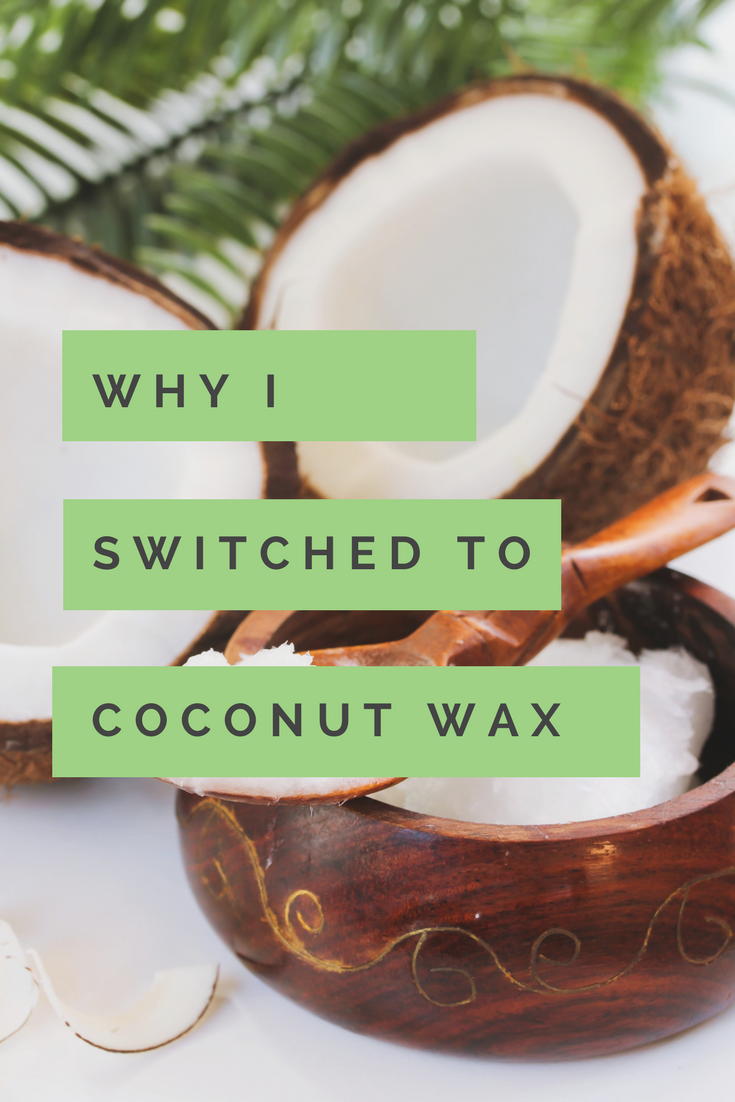 Why Book Scents switched to Coconut Wax - Book Scents Candles